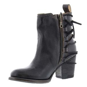 Bed Stu Blaire Lace Up Booties.